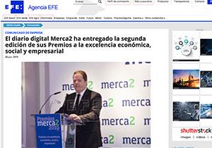 El-diario-digital-Merca2-ha-entregado-la-segunda-edicion-de-sus-Premios-EFE