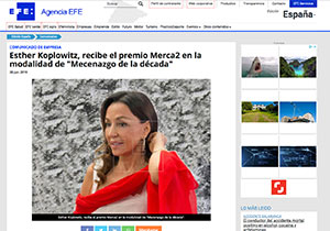 Esther-Koplowitz-recibe-el-premio-Merca2